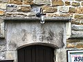 Lintel over the door of Church House Grassington - geograph.org.uk - 1274649.jpg