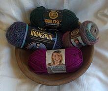 Yarn Brands : Popular varieties of Lion Brand yarns