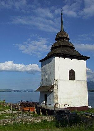 Liptovská Mara, Slovakia - church tower