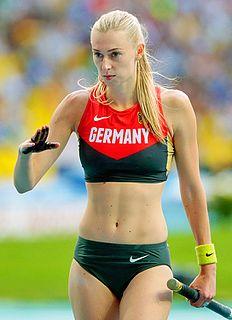 Lisa Ryzih German pole vaulter