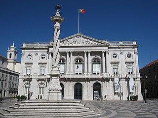 Lisbon City Hall building in Lisbon, Lisbon District, Portugal