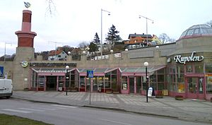 Liseberg railway station, Gothenburg, Sweden.jpg