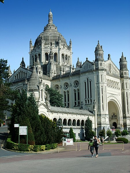 Basilica of Saint Thérèse in Lisieux, France
