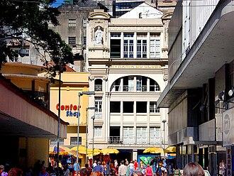 """Editora Globo - """"Livraria do Globo's"""" back façade in Porto Alegre"""