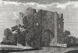 Llanblethan castle, Glamorganshire