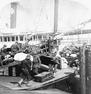 Edward Sigerfoos - Tampa was a strategic supply base and center of water transportation for United States military forces operating in the Caribbean during the Spanish-American War.