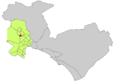 Localització de Los Almendros respecte de Palma.png