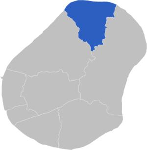 Constituencies of Nauru - Image: Locatie Constituency Anetan