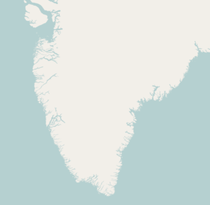 Narsaq is located in Greenland