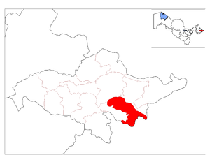 Location of Xo'jaobod District in Andijon Province.png