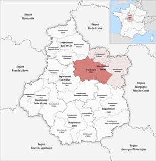 Arrondissement of Orléans Arrondissement in Centre-Val de Loire, France