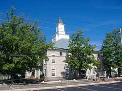 Logan County courthouse in Russellville, Kentucky