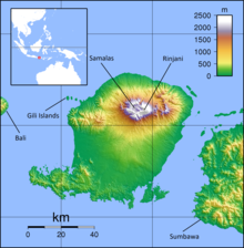 Lombok Topography (labelled).png