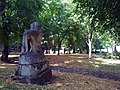 London-Woolwich, St Mary's Gardens, tomb Thomas Cribb 4.jpg