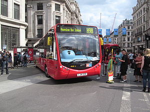London United OCE3 (LJ14 SZR), Regent Street Bus Cavalcade (1).jpg