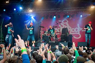 Looptroop Rockers Swedish hip-hop group