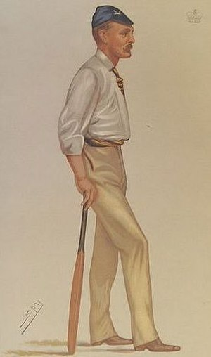 George Harris, 4th Baron Harris - ''Vanity Fair'' caricature