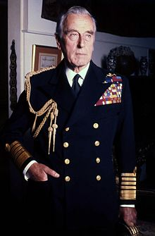 Lord Mountbatten photographié par Allan Warren