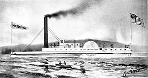 Steamboats of the Columbia River - Lot Whitcomb, circa 1853