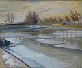 Lothar von Seebach-Canal pris dans la glace.jpg