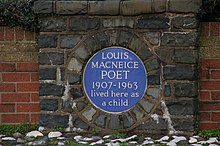 Louis Macneice plaque, Carrickfergus - geograph.org.uk - 324837.jpg