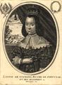 Louise de Gusmans, Royne de Portugal et des Algarbes - Moncornet ex.png