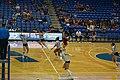 Louisiana–Monroe vs. UT Arlington volleyball 2019 37 (in-match action).jpg