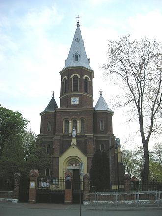 Lubień Kujawski - Church