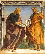 Luca Signorelli - Pair of Apostles in Dispute - WGA21266.jpg