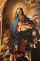 Luca giordano, Vergine presenta il Bambino a santa Maria Maddalena dei Pazzi, 1685, 06.JPG