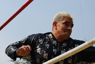 Shocker (wrestler) - Shocker during an outdoor event in 2013.