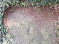 Lucy and Charles Townsends grave cleared of ivy in Thorpe Notts.jpg
