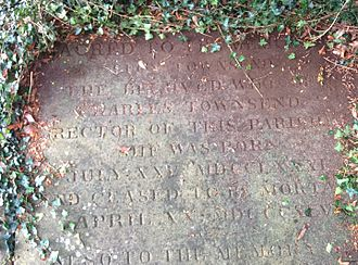 Lucy Townsend - Lucy and Charles Townsend's grave