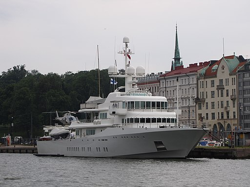Luxury yacht Senses 2