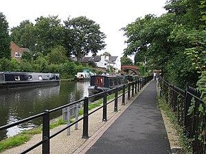 Lymm - The Bridgewater Canal at Lymm