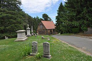 Pine Grove Cemetery (Lynn, Massachusetts) - The chapel