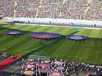 2012 UEFA Women's Champions League Final - Image: Lyon v FFC 01