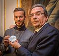 M. Pokora remise médaille honneur ville de Strasbourg 12 février 2014.jpg