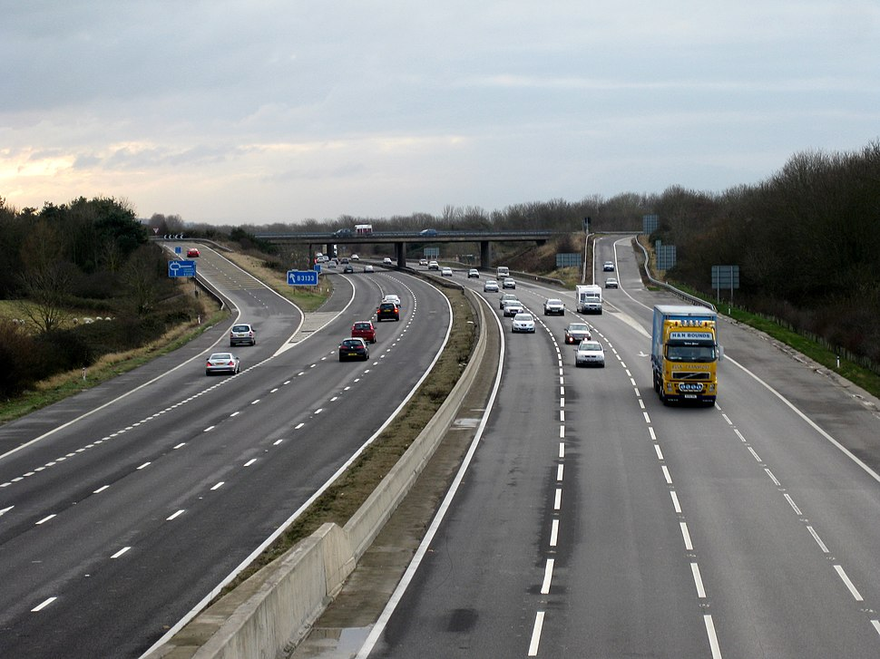 M5 junction 20 from north