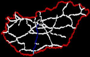 M6 motorway (Hungary) - Image: M6 Autópálya Hungary
