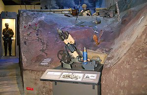Mississippi Armed Forces Museum - Image: MAFM WWI exhibit
