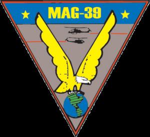 Marine Aircraft Group 39 - Image: MAG 39 insignia