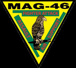 Marine Aircraft Group 46 - MAG-46 insignia