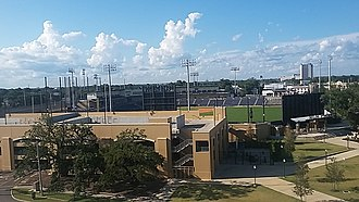 MGM Park - An overhead view of the park