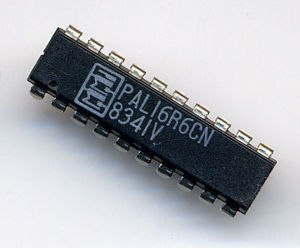 Programmable Array Logic - MMI PAL 16R6 in 20-pin DIP