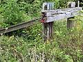 Maastricht 2012 Stootblok verlaten spoorlijn Bosscherveld bij Lage Fronten.JPG