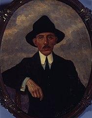 Retrato de Santos Dumont