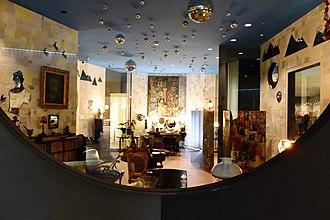Museo de Arte Contemporáneo (Madrid) - Recreation of the study of Ramón Gómez de la Serna