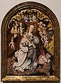 Maestro dell'altare di san bartolomeo, madonna col bambino e angeli musicanti, 1485-1500 ca.jpg