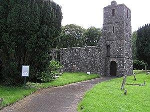 Maghera - The old St Lurach's Church